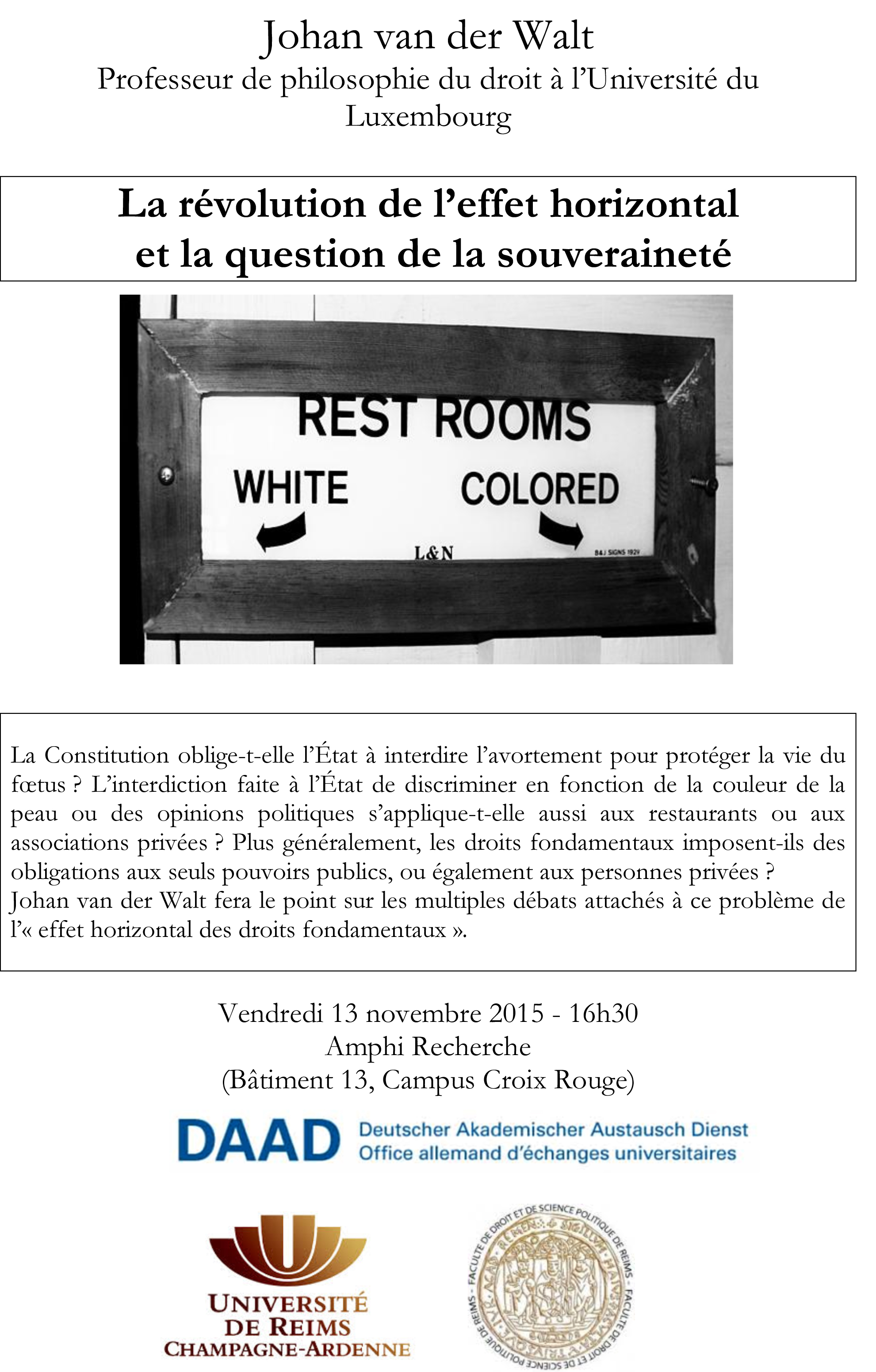 Colloque - Bureau virtuel univ reims ...