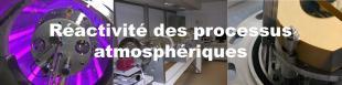 réactivité des processus atmosphériques