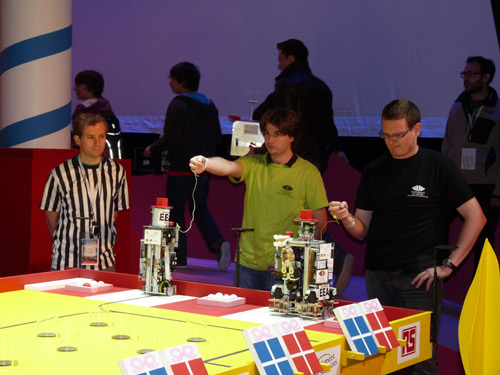 R3ea termine la 5 me place de la coupe de france robotique 2013 - Coupe de france robotique ...