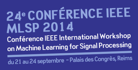 24e COnférence IEEE MLSP 2014