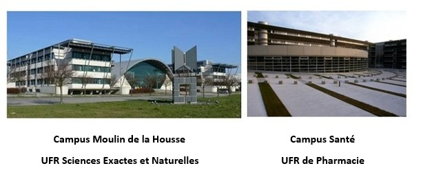 Photo UFR Sciences et UFR de pharmacie (jpg, 38Ko)