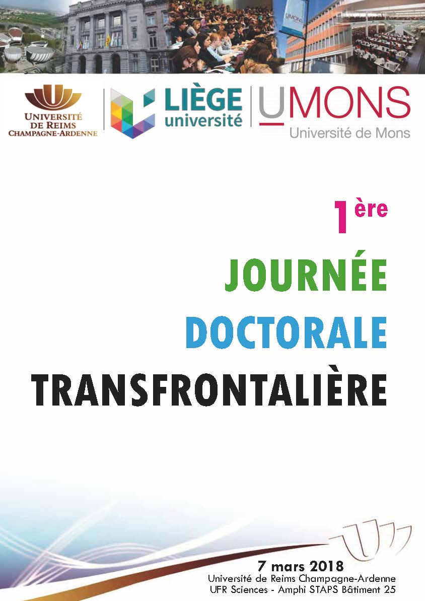 Flyer Journée doctorale