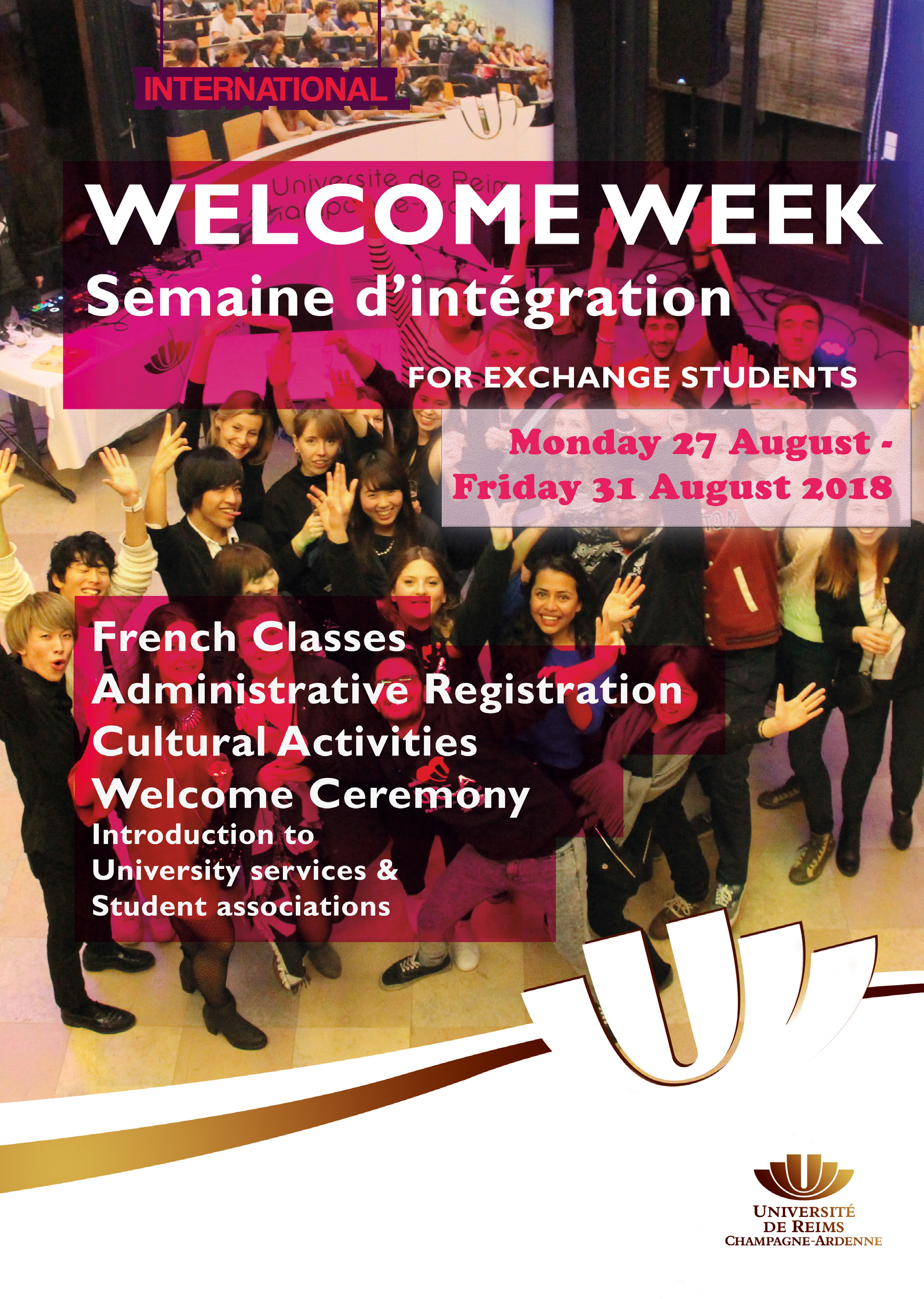 programme welcome week