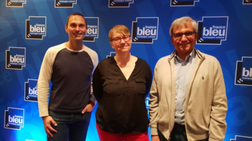 Photo de l'émission de France Bleu Midi du 25/09/2018