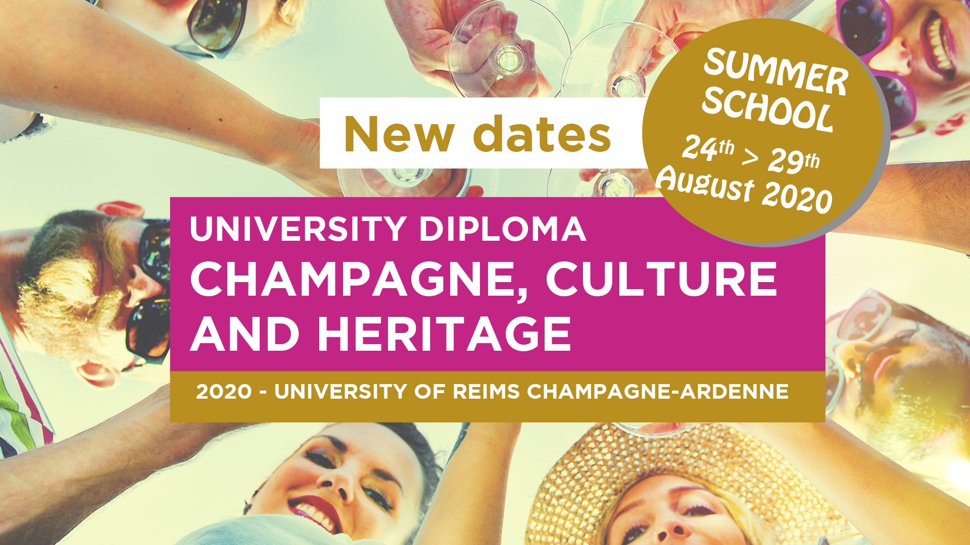 Summer School Champagne Cutlure Heritage Formation Reims Diplome