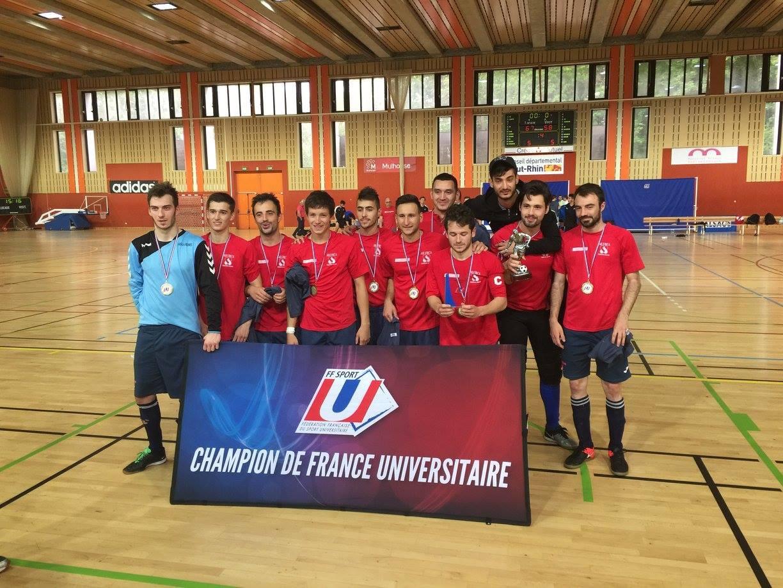 Champions de France Universitaire de Futsal