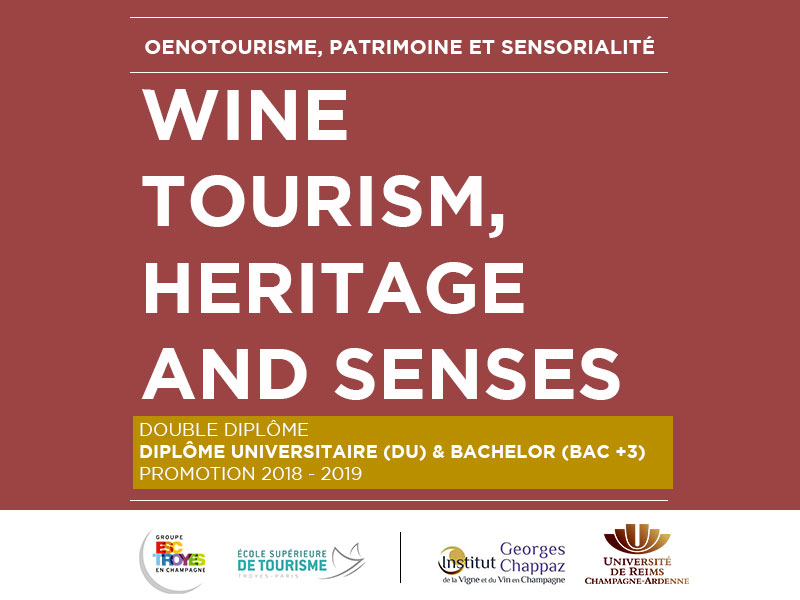 DU Wine tourism, heritage and senses