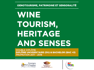 Diploma of Higher Education in Wine tourism, heritage and senses