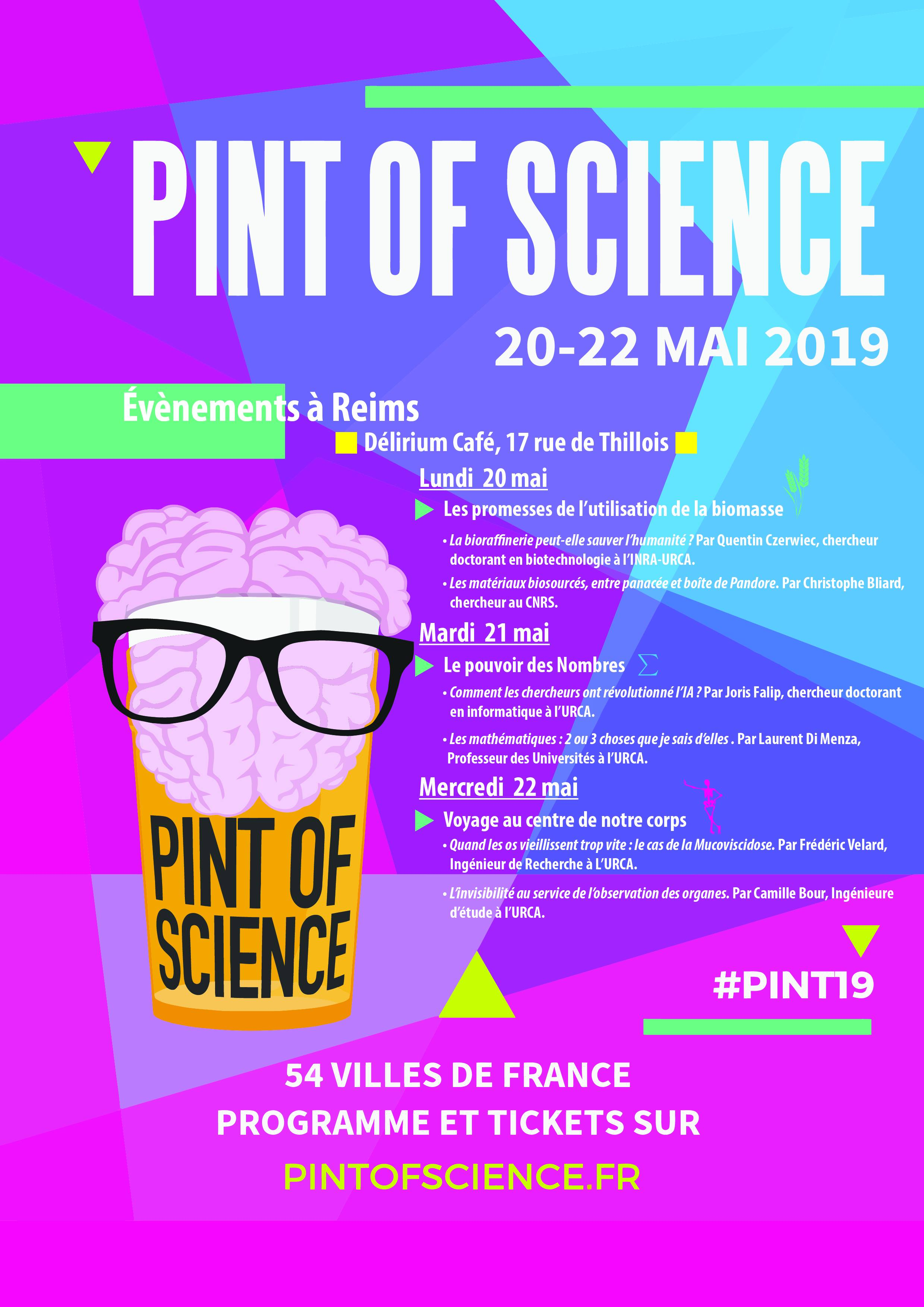 Affiche Pint of Science